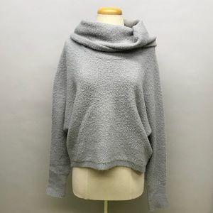 BCBG Maxazria extra large gray cowl neck sweater M